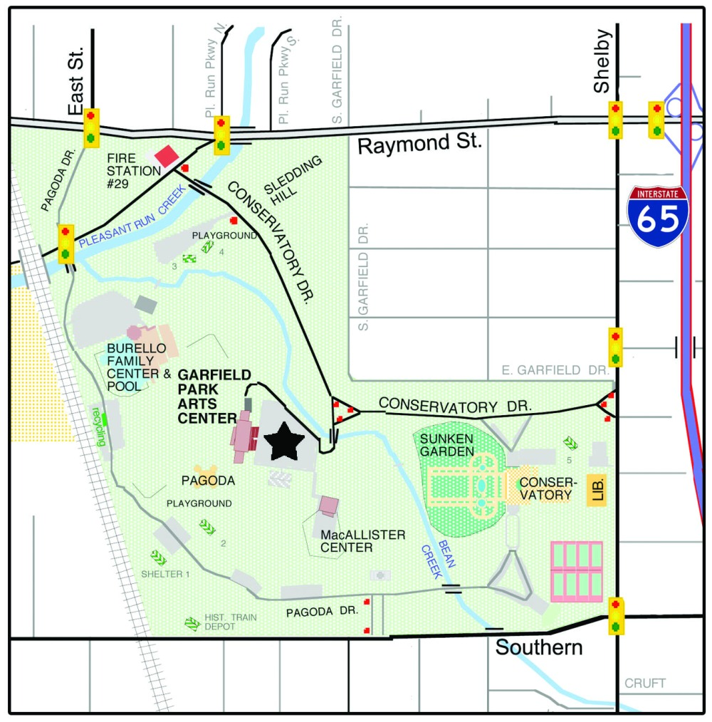 Map of Garfield Park