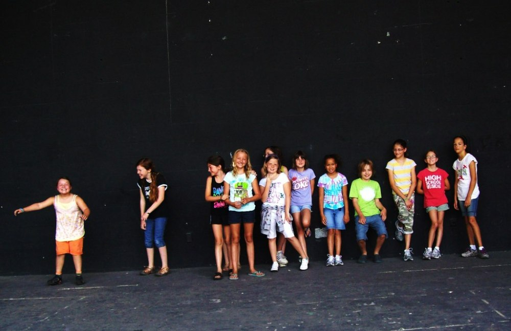 Theatre Arts Discovery Campers