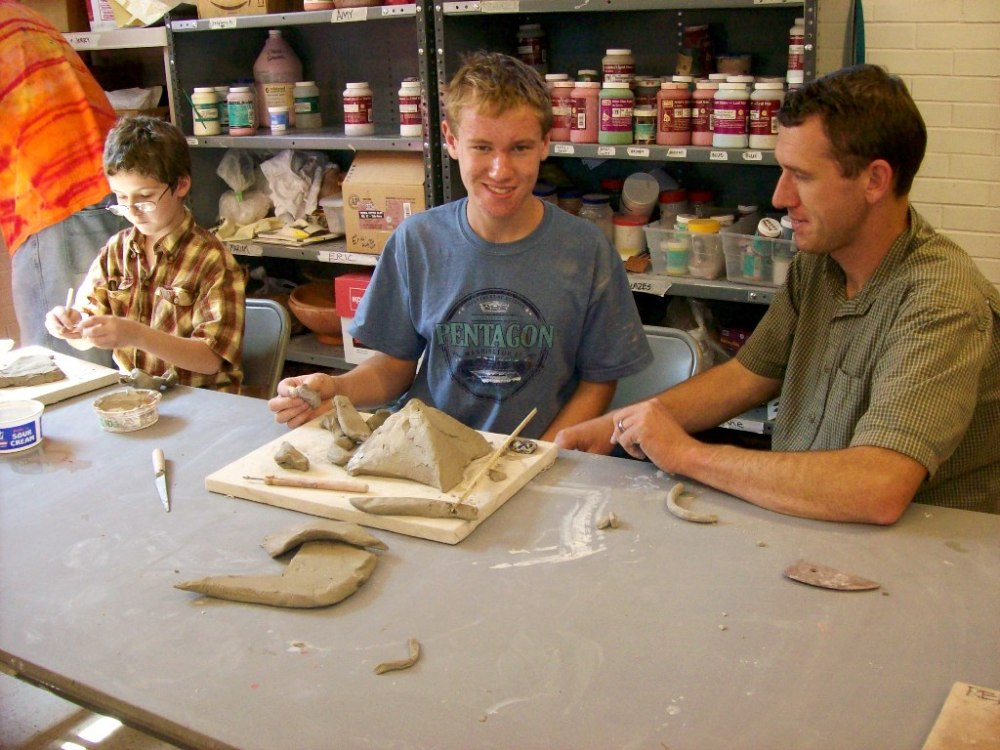 Clay Handbuilding for People with High-Functioning Autism