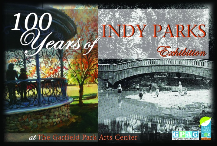 100 Years of Indy Parks postcard