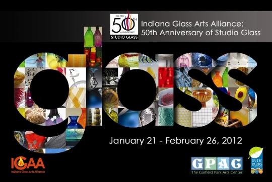 Glass Exhibit Postcard