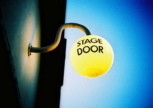 stage door sign from slimmer_jimmer on flickr
