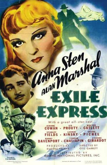 Exile Express movie poster