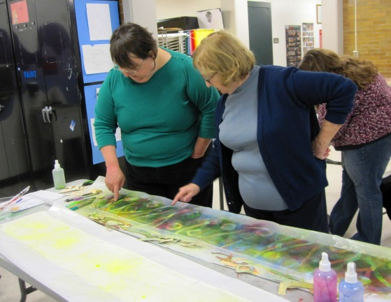 Silk Painting with Stephanie Lewis Robertson