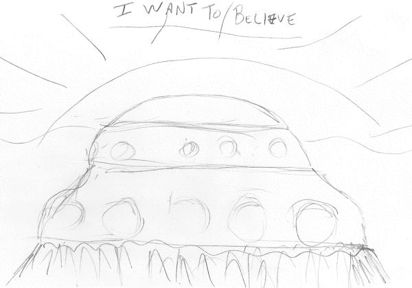 X Files sketch
