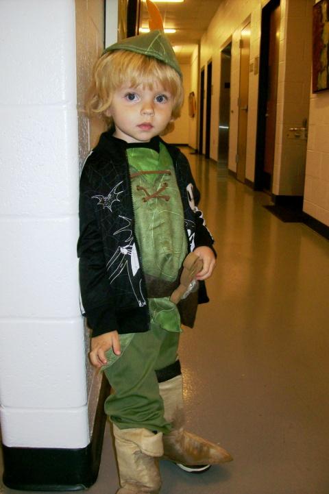 Boy in costume