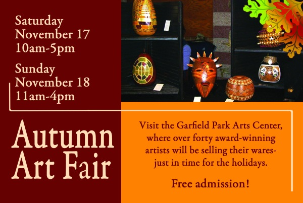 Autumn Art Fair postcard