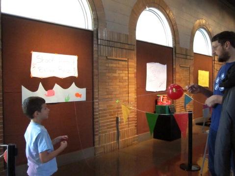 Shark Attack Balloon Race