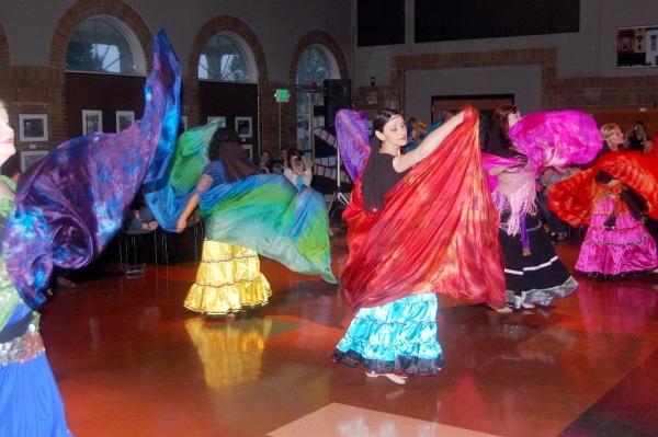 Dance performance, photo credited to David Malloy