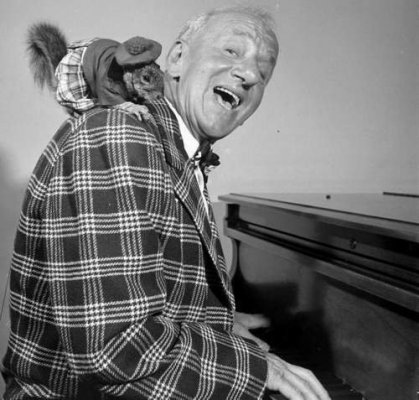Jimmy Durante and Rupert