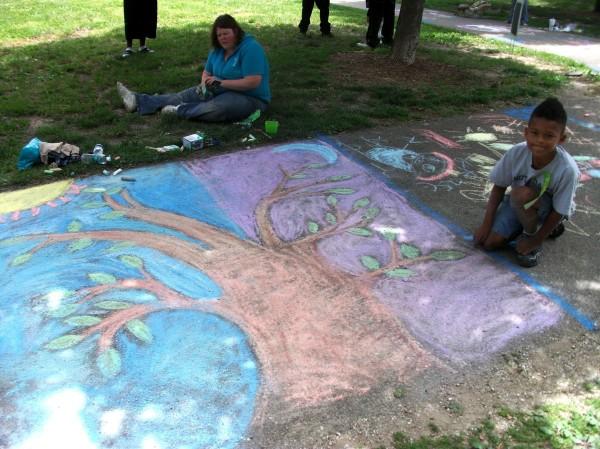 2012 Chalk Fest drawing