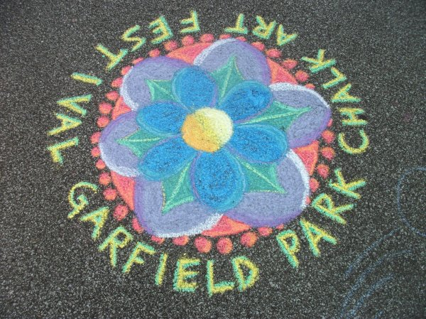 2012 Chalk Fest drawing