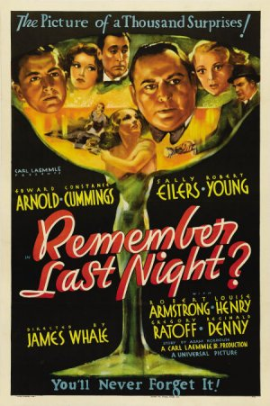 Remember Last Night poster