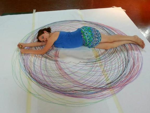 Human Spirograph